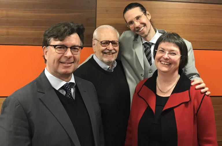 Ernst-Oliver Wilhelm, Gerhard Schimpf, Marc-Oliver Pahl, Ruth Stubenvoll